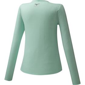 Mizuno Impulse Core Longsleeve T-Shirt Dames, beach glass